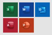 Office2016のアイコン(タイル)
