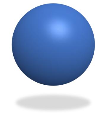 球体の完成