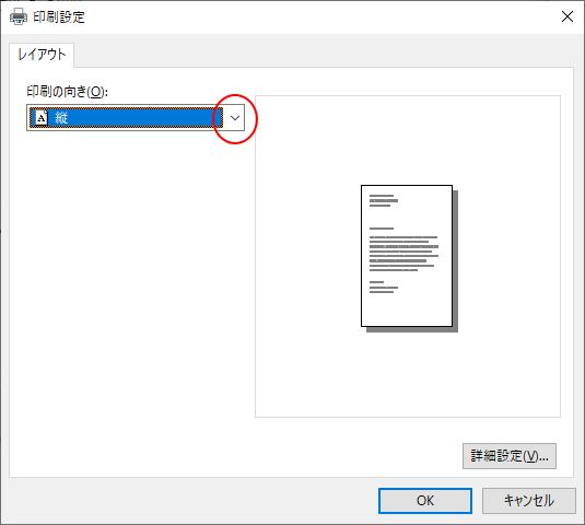 [印刷設定]ダイアログボックス