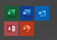 Office2019のアイコン